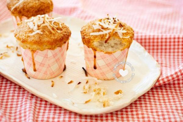 Cocadas (Flourless Coconut Cupcakes)