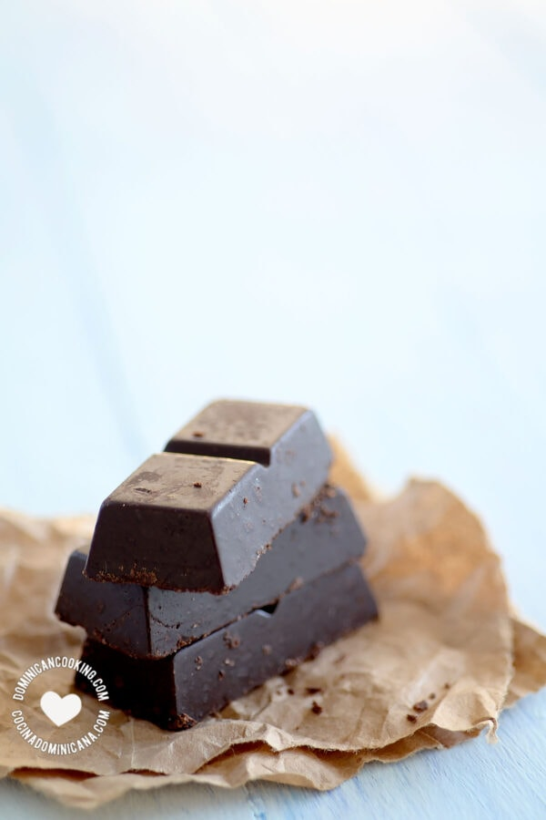Dominican chocolate bars