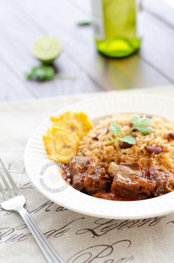 dominican goat recipe