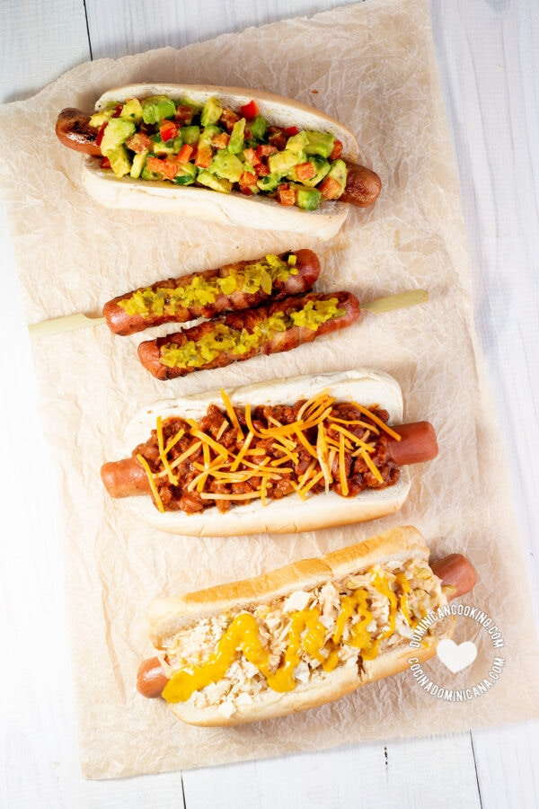 Dominican Hot Dogs Party