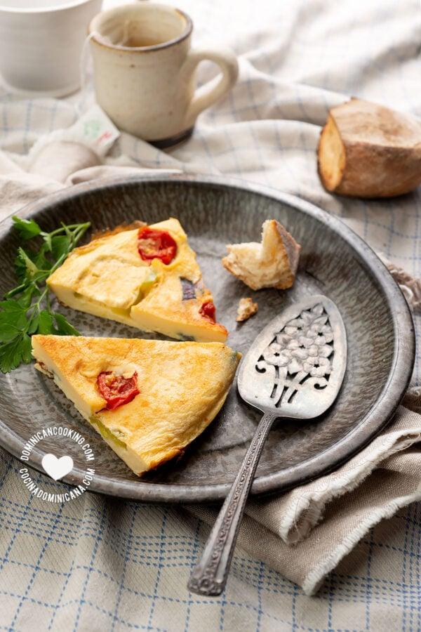 Tortilla de Huevos (Dominican Omelette)