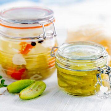 Encurtido y Vinagre de Vinagrillo (Bilimbi Pickle and Vinegar)