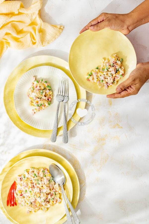 Ensalada de Coditos (Elbow Pasta Salad)
