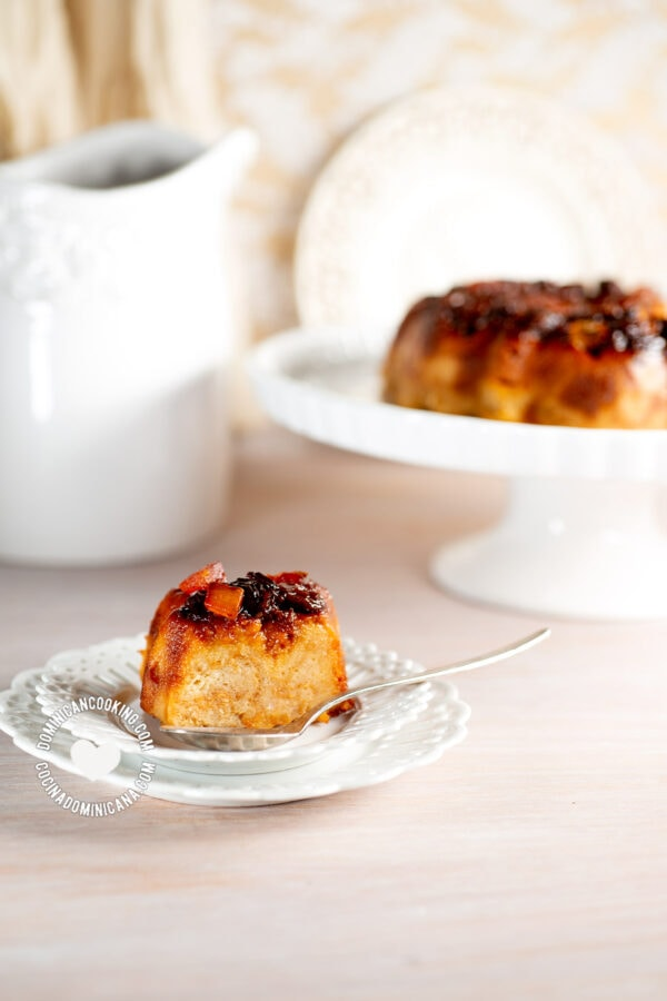 "Bread Pudding ""Flan"""