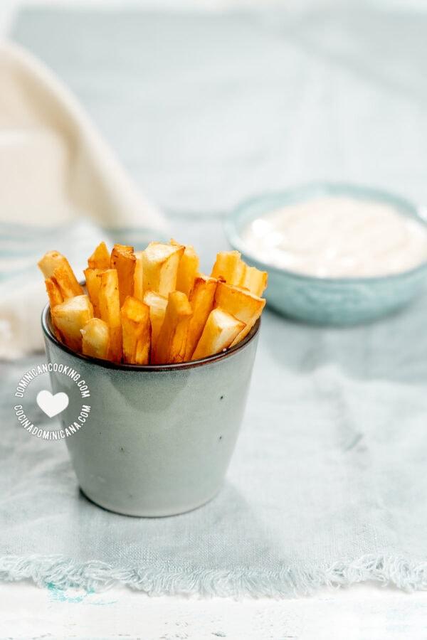 Yuca Frita (Easy Cassava Fries)