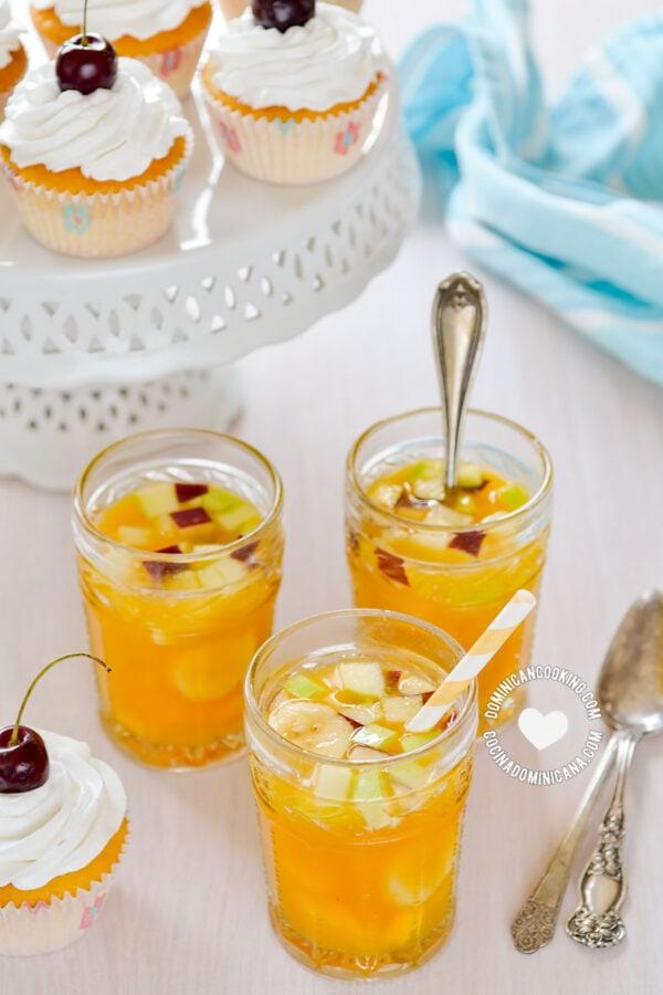 Ponche de Frutas (Fruit Punch)