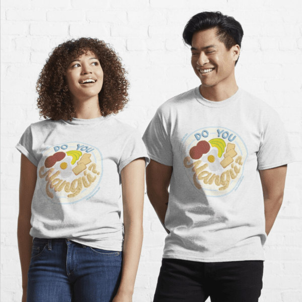 Man and woman with tees