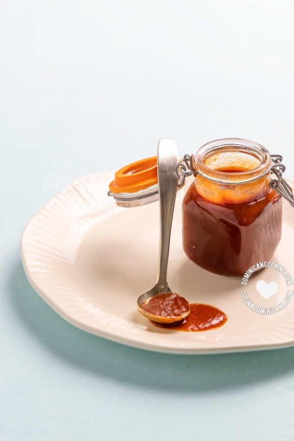 Homemade BBQ Spicy Guava Sauce