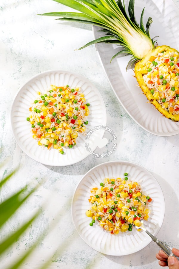 Rice, Pineapple, and Sweet Corn Salad