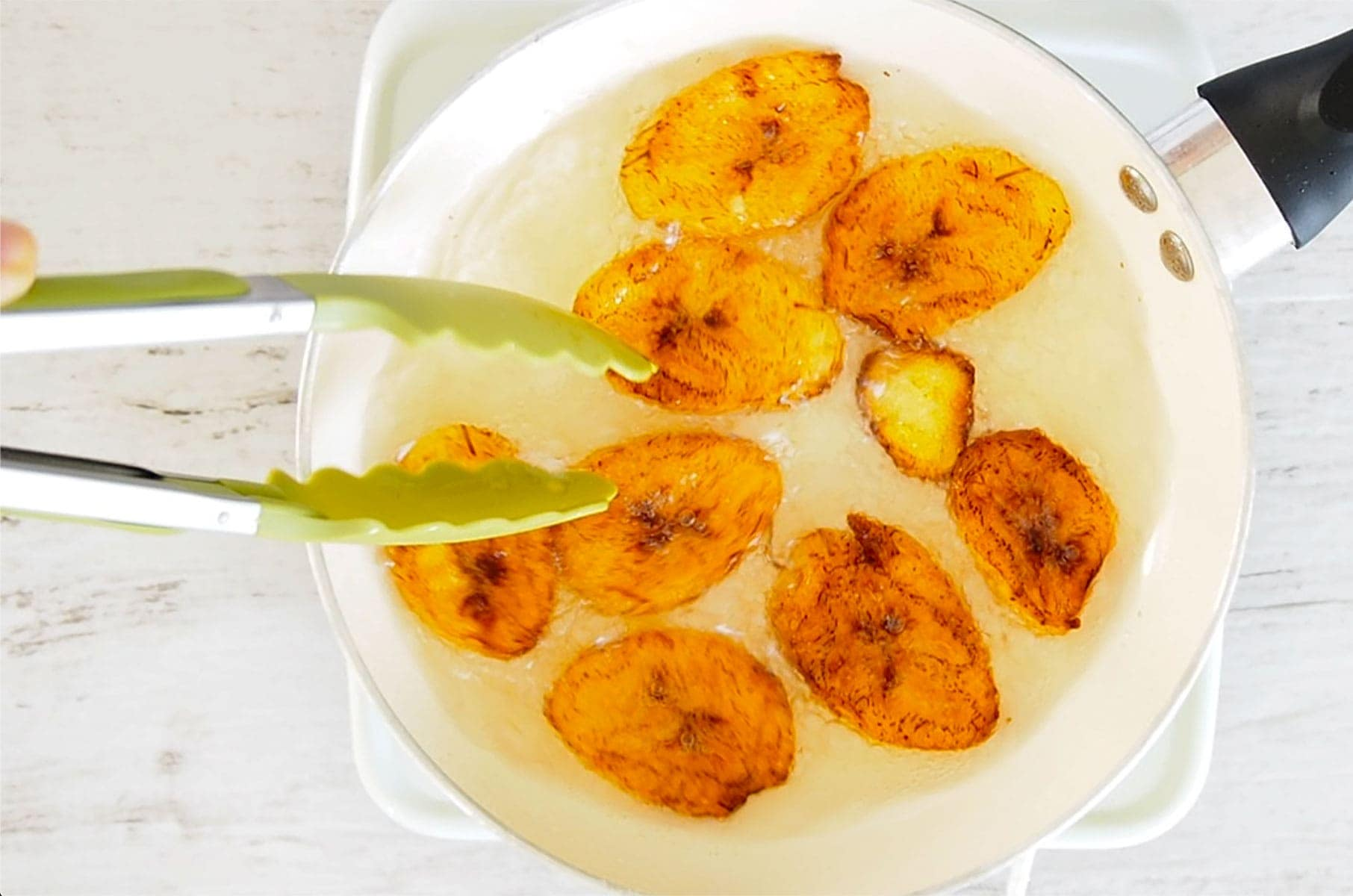 Fritos Maduros Recipe And Video Of The Best Fried Ripe Plantains