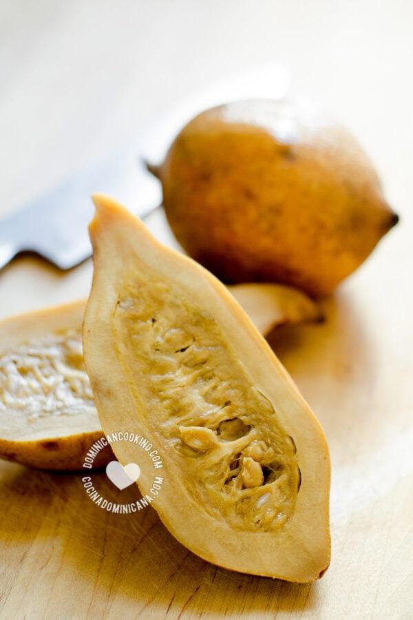 Genipa americana (jagua) fruit