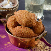 Dominican kipe (kibbeh) in bowl