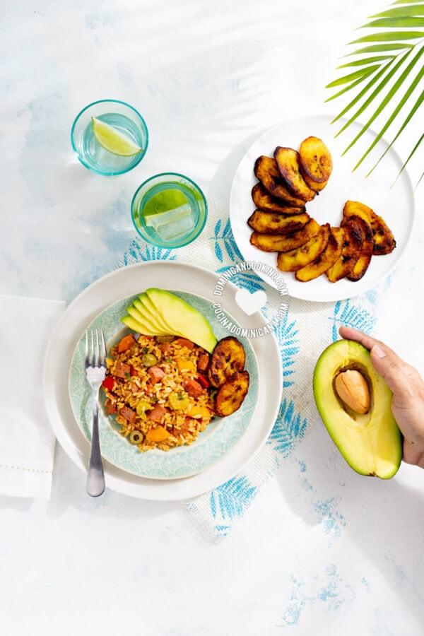 Locrio de Salami (Rice and Dominican-Style Salami)