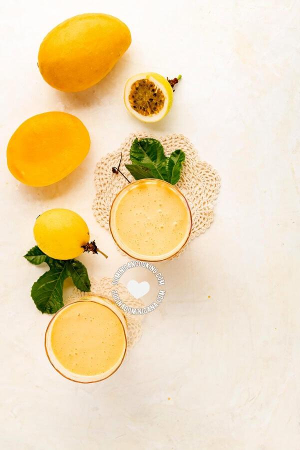 Mango and Passionfruit Smoothie