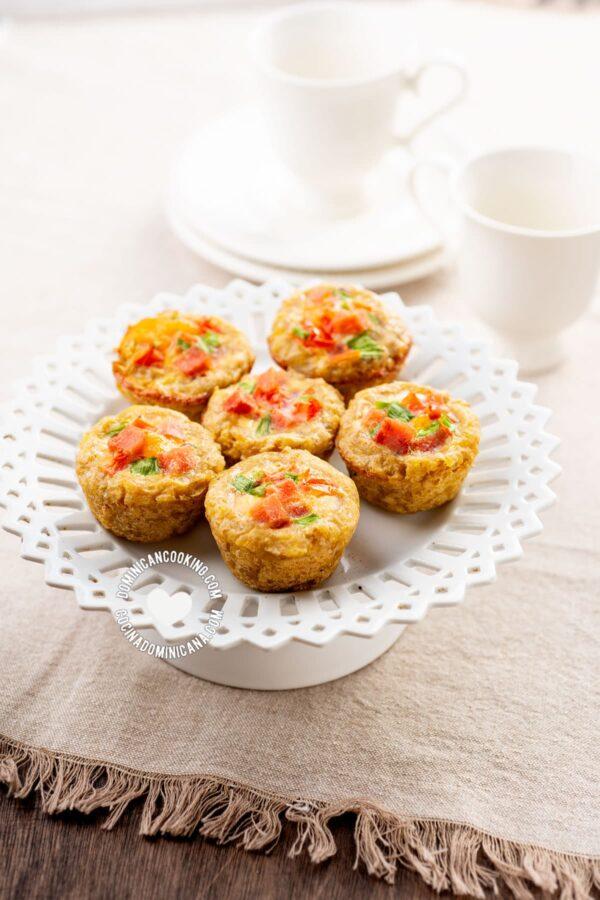 Mangú (Plantain) Breakfast Bites