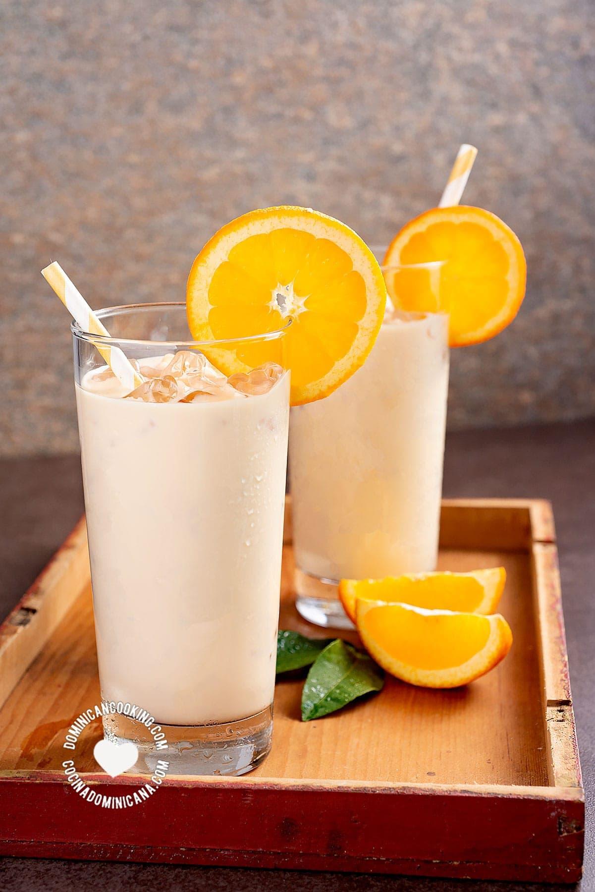Morir Sonando Video Recipe Of Amazing Milk Orange Drink