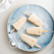"Easy ""Tres Leches"" Popsicles"
