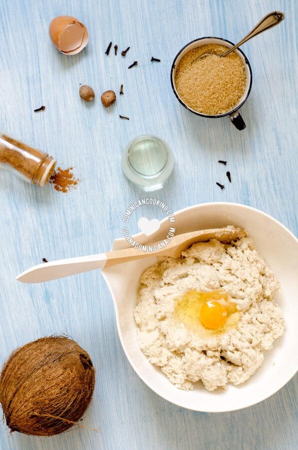 Pan de Batata ingredients