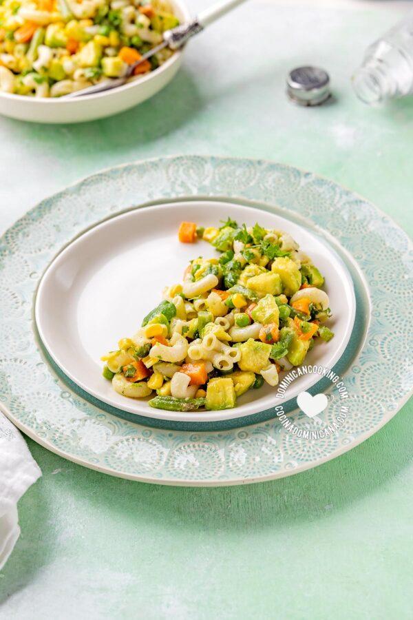 Pasta and Avocado Salad