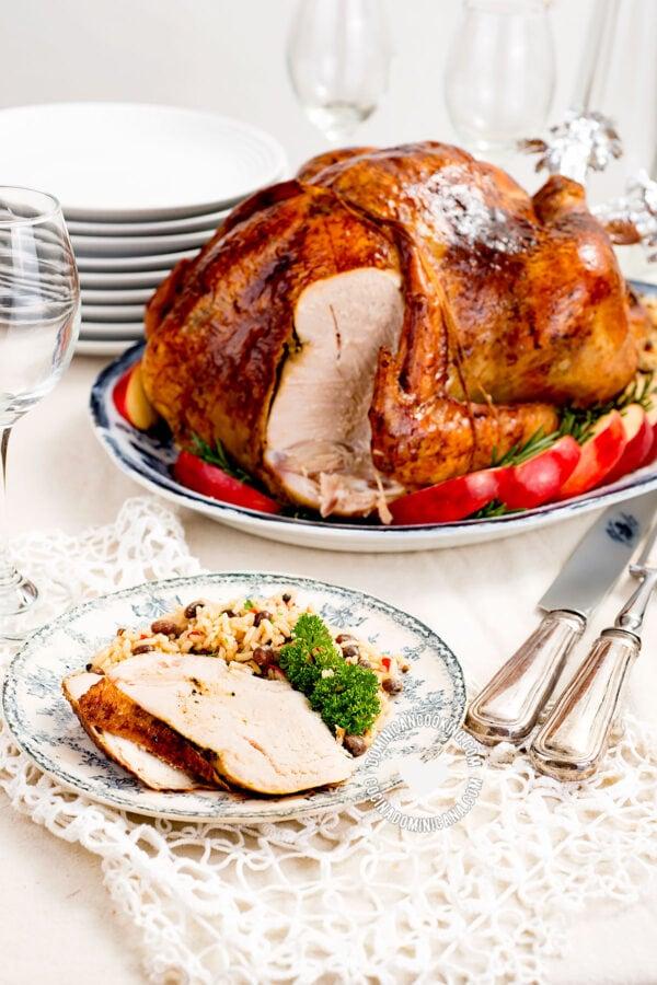 how-to-make-dominican-turkey-pavo-dominicano-