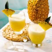 Pera-Piña (Rice and Pineapple Juice)