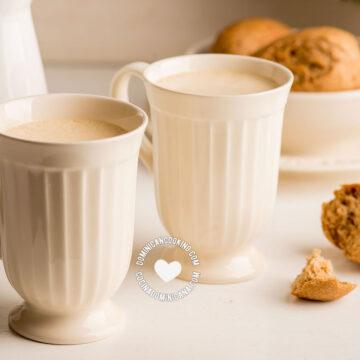 Two Cups of Ponche de Desayuno (Breakfast Eggnog)