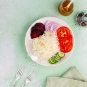 Dominican Cabbage and Beet Salad with Vinagraitte