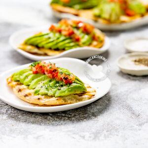 Pan con Aguacate (Avocado-Topped Bread)