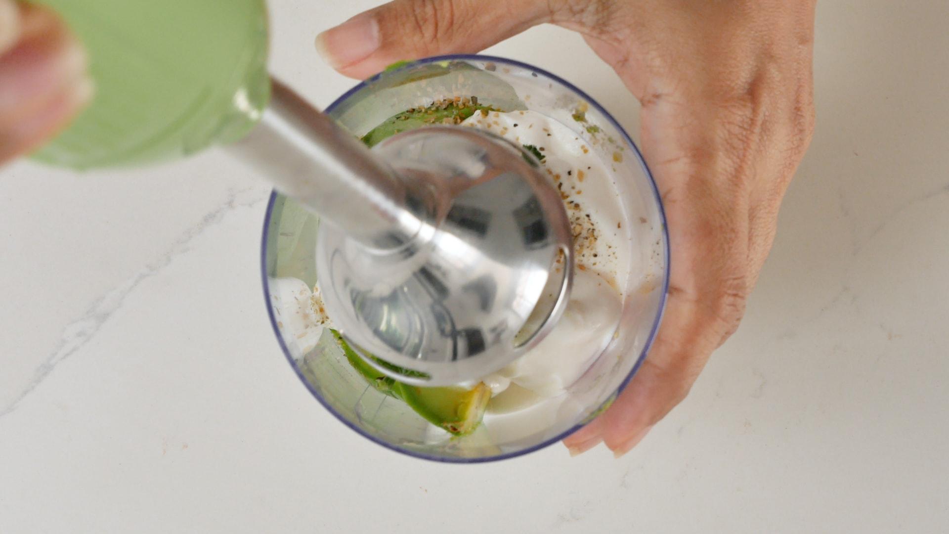 Licuando la salsa