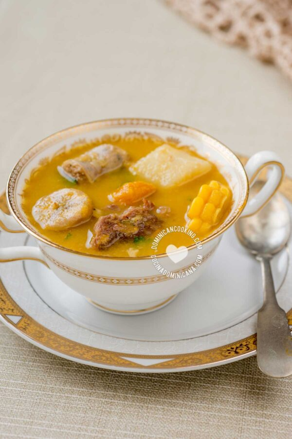 how to make sancocho