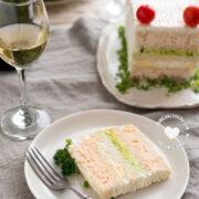 Shrimp Sandwichon (Party Sandwich Cake)