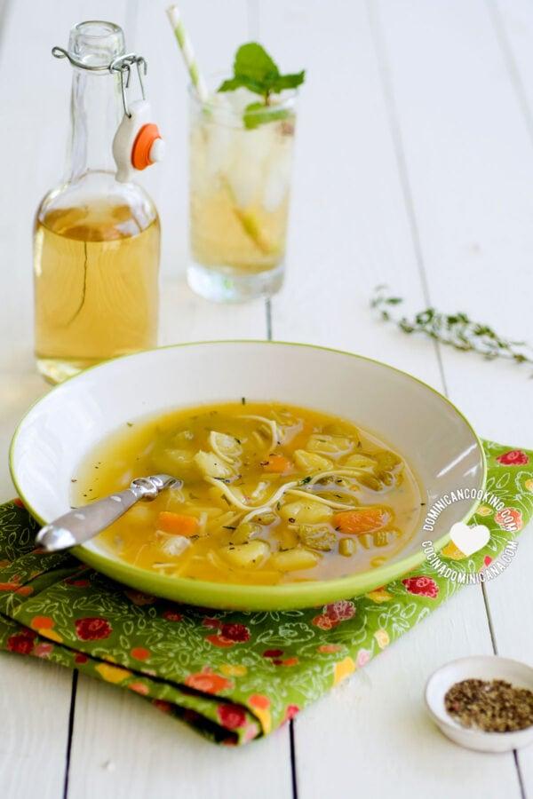 Sopa Boba (Vegetable Soup)