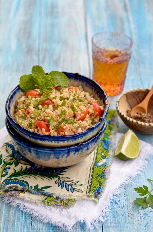 Tipili (Dominican trigo salad)
