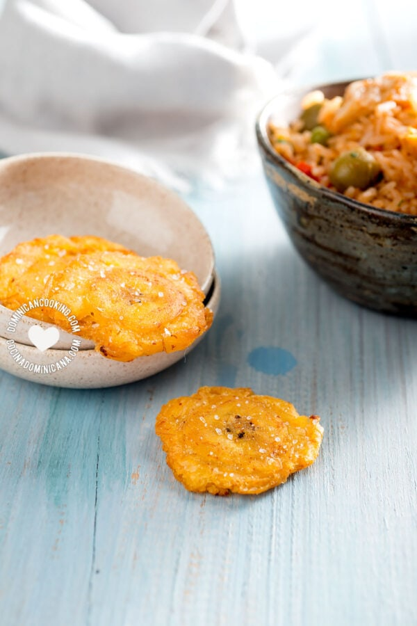 Tostones (Twice-Fried Plantains)