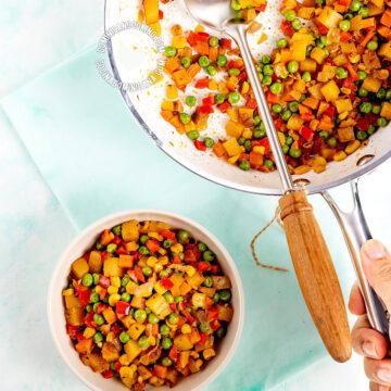 Vegan vegetable stuffing