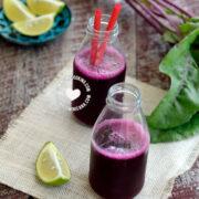 Jugo de Remolacha y Naranja o Limón Recipe (Beet Juice)