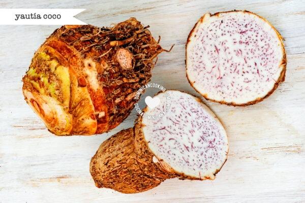 Yautía coco (cocoyam)